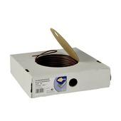 Profile installatiedraad bruin 2,5 mm² 100 meter