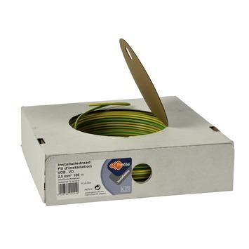Profile installatiedraad groen/geel 100 meter
