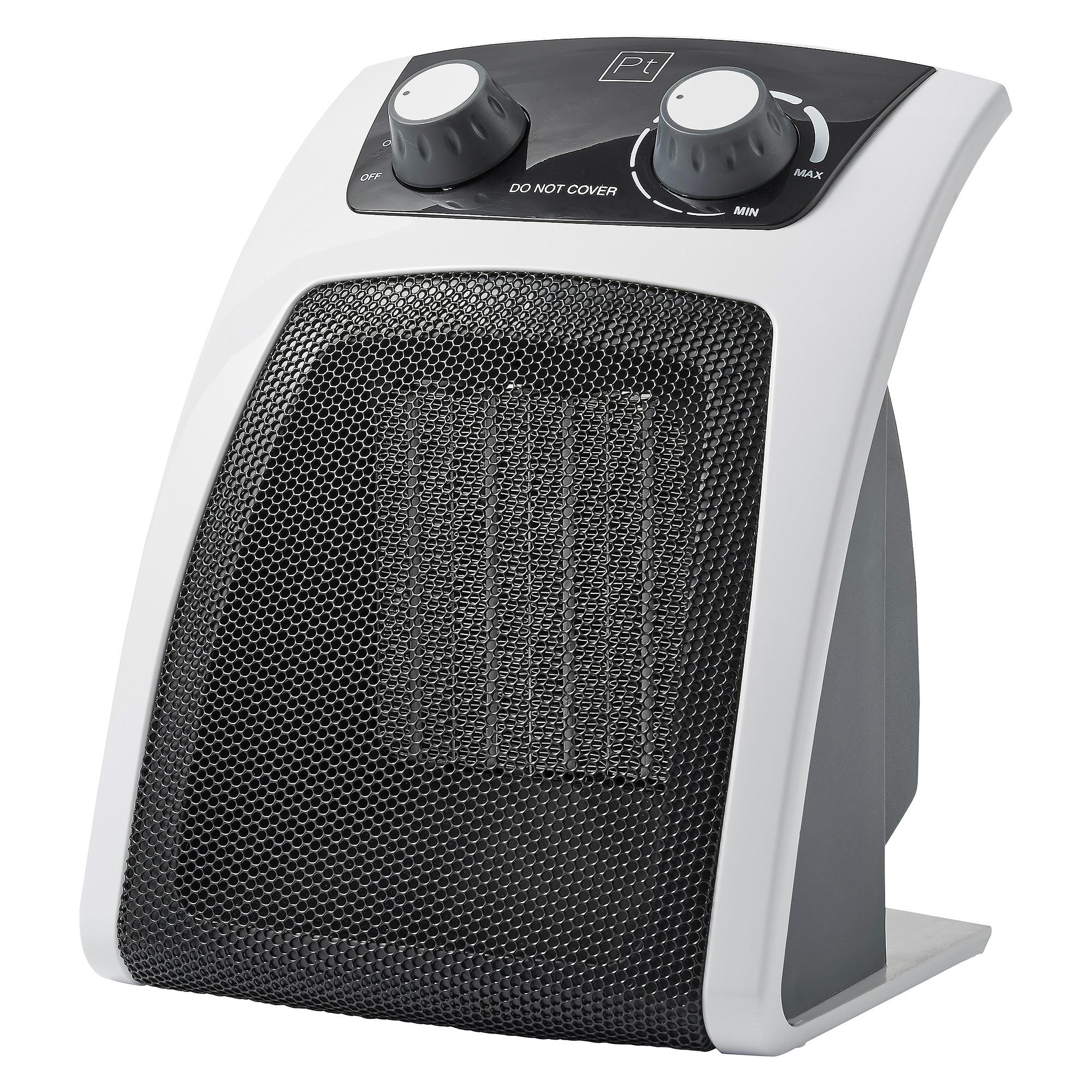 Handson ventilatorkachel 2000W 25,8x20 cm
