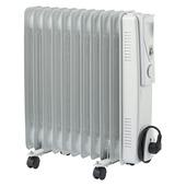 Handson oliegevulde radiator 2500W met 11 elementen