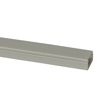 Leidinglijst P25 kunststof polar wit 25x13mm 2 meter