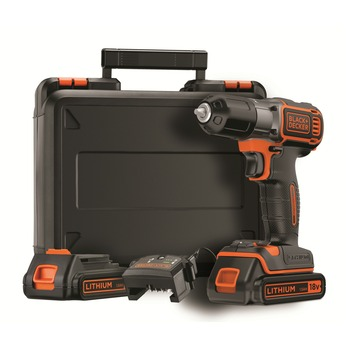 Black+Decker accuboormachine ASD184KB AutoSense