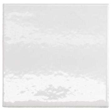 Wandtegel Hoogglans Wit 15x15 cm 1 m²