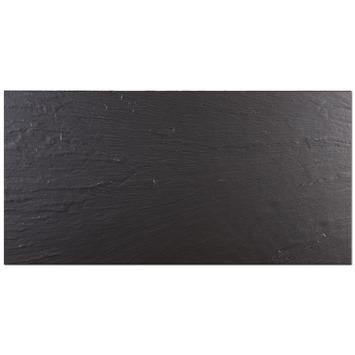 Vloertegel Java Zwart 30x60 cm 1,26 m²