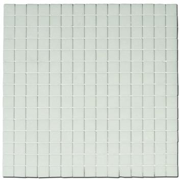 Wandtegel Mozaiek Kristal wit 30x30 cm