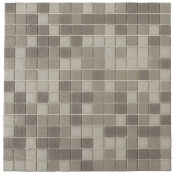 Stoeptegels 30x30 Gamma.Gamma Wandtegel Mozaiek Kristal Grijs 30x30 Cm 10 Stuks Kopen