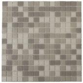 Wandtegel Mozaiek Kristal grijs 30x30 cm 10 stuks