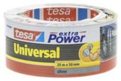 Tesa ducttape 50 mm 25 meter extra power zilver