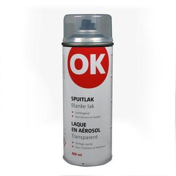 OK spuitlak kleurloos blank 400 ml