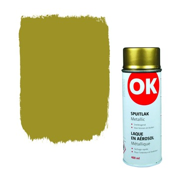 OK spuitlak goud metallic 400 ml