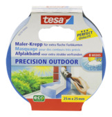 Tesa Precision Outdoor afplaktape 25x25 mm blauw