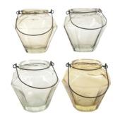 Theelichthouder Glas set van 2 stuks