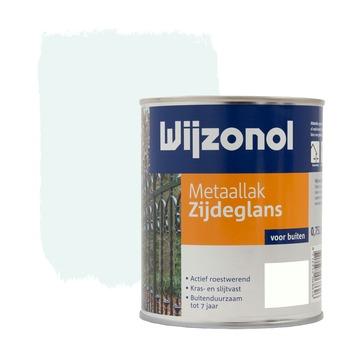 Wijzonol metaallak ijswit zijdeglans 750 ml