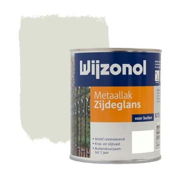 Wijzonol metaallak ral 9001 zijdeglans 750 ml