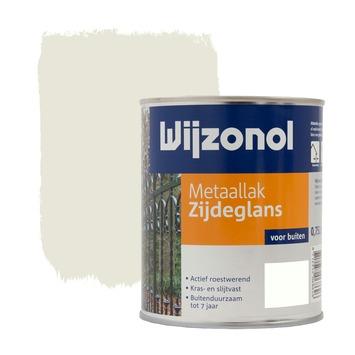 Wijzonol metaallak roomwit zijdeglans 750 ml