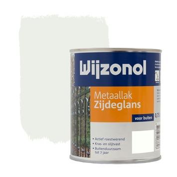 Wijzonol metaallak wit zijdeglans 750 ml