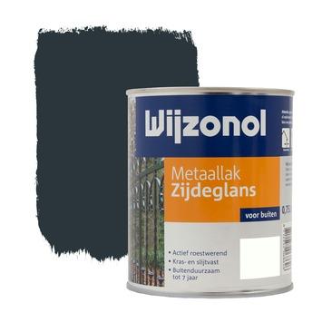 Wijzonol metaallak koningsblauw zijdeglans 750 ml