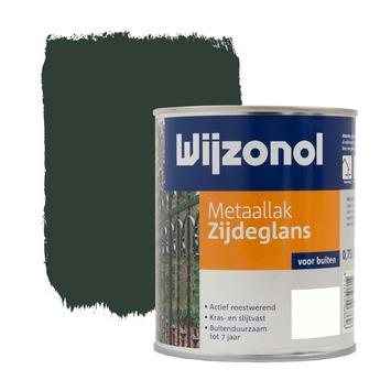 Wijzonol metaallak woudgroen zijdeglans 750 ml