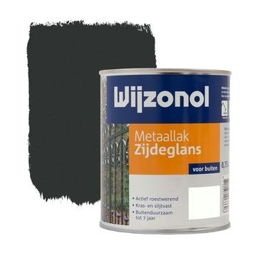 Wijzonol metaallak zwart zijdeglans 750 ml