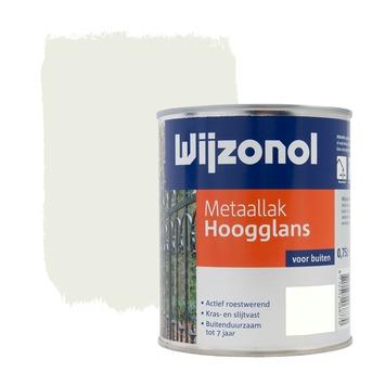 Wijzonol metaallak ral 9010 hoogglans 750 ml