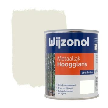 Wijzonol metaallak roomwit hoogglans 750 ml
