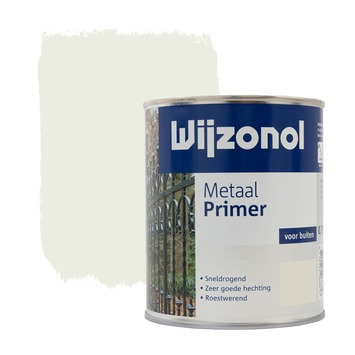 Wijzonol metaal grondverf wit 750 ml