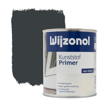 Wijzonol kunststof grondverf blauwgrijs 750 ml