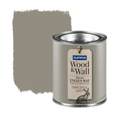 GAMMA Wood&Wall krijtverf kleurtester Graceful Grey 100 ml