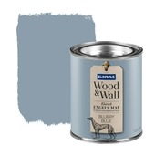 GAMMA Wood&Wall krijtverf kleurtester Blurry Blue 100 ml