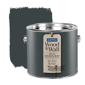 GAMMA Wood&Wall krijtverf Bluish Black 2,5 liter