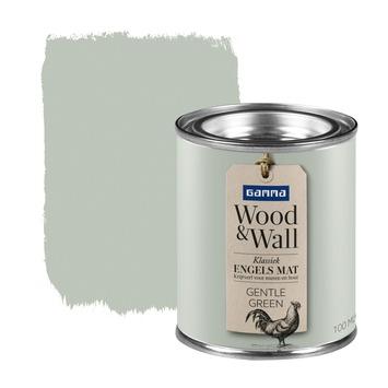 GAMMA Wood&Wall krijtverf kleurtester Gentle Green 100 ml
