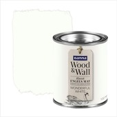 GAMMA Wood&Wall krijtverf kleurtester Wonderful White 100 ml