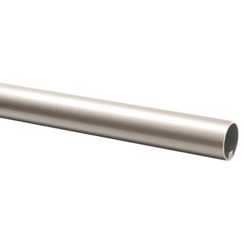 CanDo trapleuning RVS-look geborsteld Ø 45 mm 390 cm