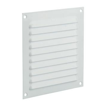 Renson ventilatierooster opbouw aluminium wit 150x150 mm