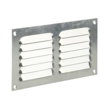 Renson ventilatierooster opbouw aluminium zilver 200x100 mm