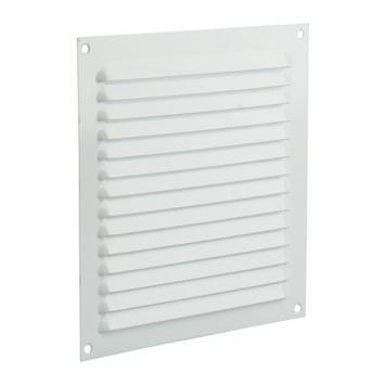 Renson ventilatierooster opbouw aluminium wit 200x200 mm