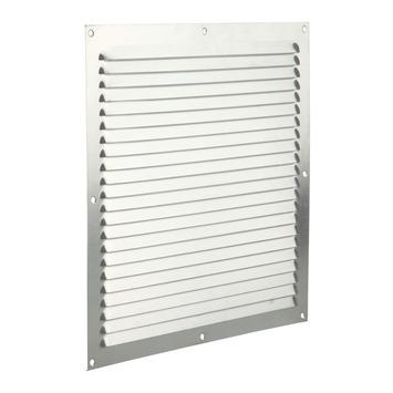 Renson ventilatierooster opbouw aluminium zilver 300x300 mm