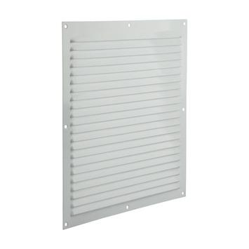 Renson Ventilatierooster Opbouw Aluminium Wit 300 x 300 mm