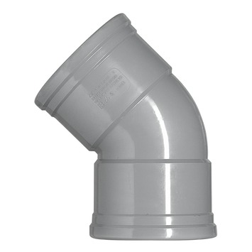 Martens bocht 45° manchet 2x110 mm