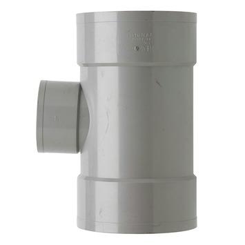 Martens T-stuk PVC grijs 3x lijmverbinding 125x75x125 mm