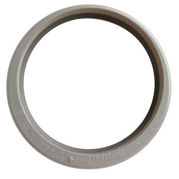 Martens verloopstuk PVC grijs 1x lijmverbinding 125x110 mm