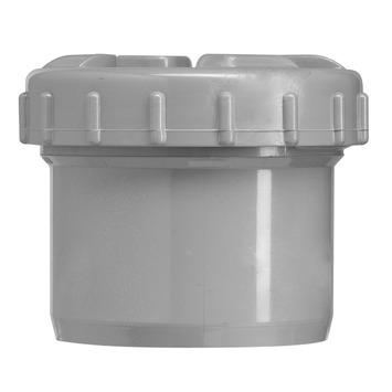 Martens eindstop grijs met schroefdeksel 75 mm