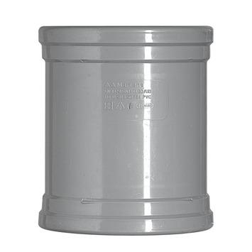 Martens overschuifmof grijs 2x manchet 125x125 mm