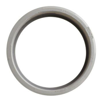 Martens verloopstuk PVC grijs 1x lijmverbinding 70x80 mm