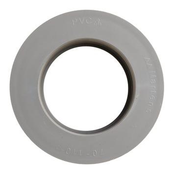 Martens verloopstuk PVC grijs 1x lijmverbinding 70x110 mm