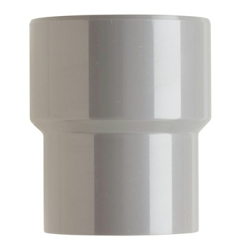 Martens verloopstuk PVC grijs 1x lijmverbinding 75x60 mm