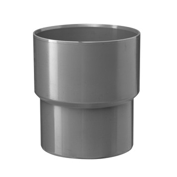 Martens verloopstuk PVC grijs 1x lijmverbinding 75x80 mm