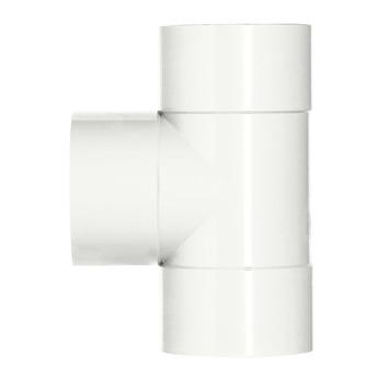 Martens T-stuk PVC wit 3x lijmverbinding 40x40x40 mm