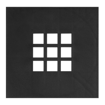 Martens deksel kunststof 20x20 cm