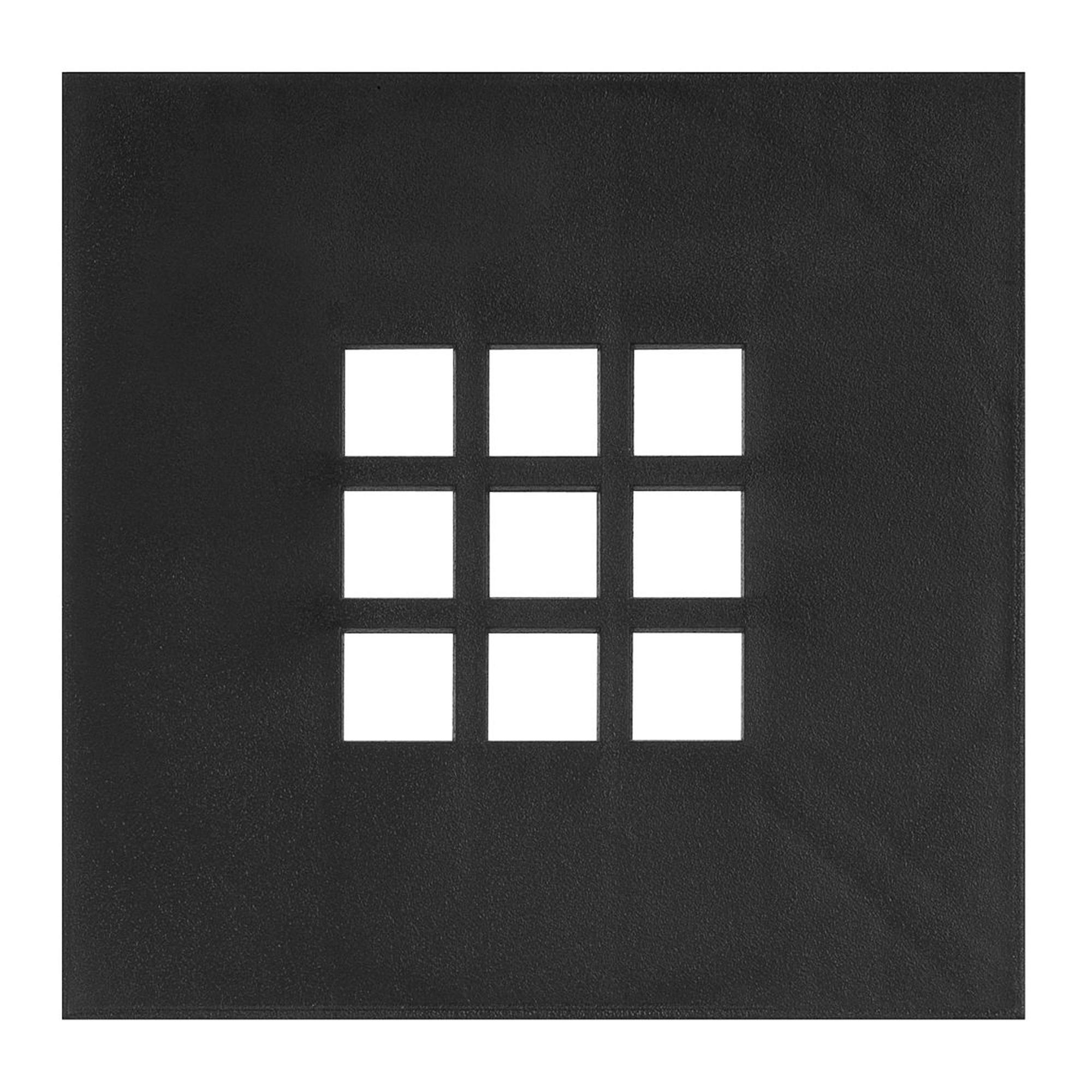 Martens deksel kunststof 20x20cm w-flex put